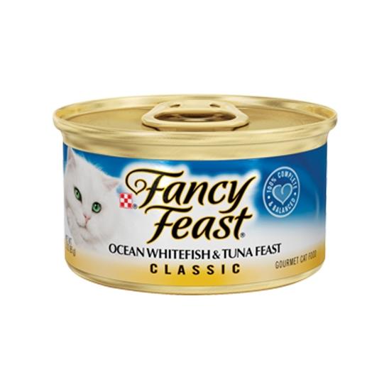 퓨리나 팬시피스트 흰살생선&참치 캔 85g 사진