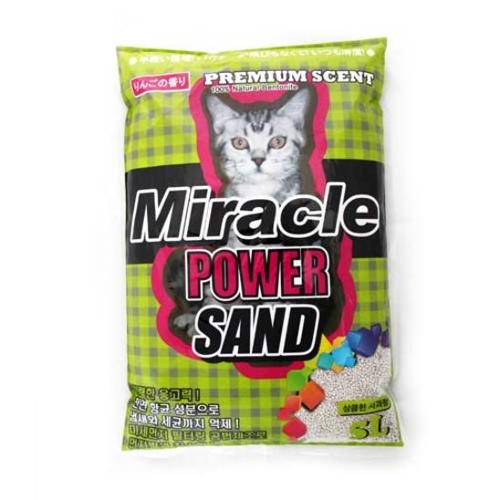 미라클 파워 모래 사과향 5L 사진