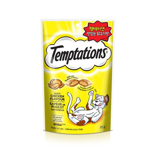 템테이션 트릿 닭고기맛 85g - 캐나다산 사진