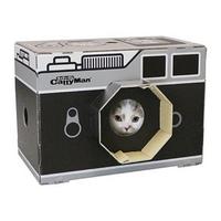 캐티맨 고양이 스크래쳐 하우스 카메라