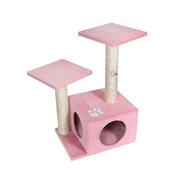 펫모닝 핑크 미니 캣타워 PMC-9203-2