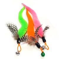 힐링타임 니나노 천연깃털 꼬리 낚싯대 리필 색상랜덤