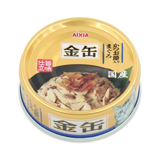 아이시아 금관 참치&가다랑어포 캔 70g 사진