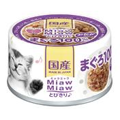 먀우먀우 토비키리 참치&가다랑어포 캔 60g