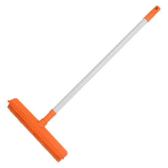 스타클린 실리콘 빗자루 오렌지 사진