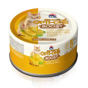 사조 옵티원 부스트 닭안심&치즈 고양이캔 160g