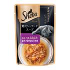 쉬바 수제수프 참치 게맛살과 연어 파우치 40g 사진