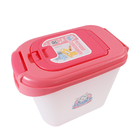 캣아이디어 럭셔리 사료통 5kg 핑크 사진