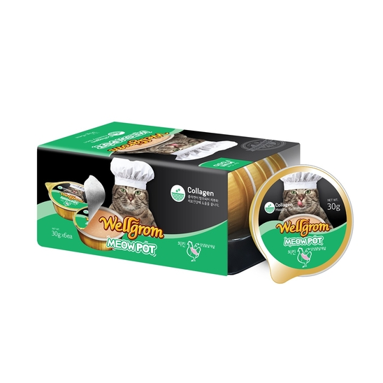 2+1 웰그롬 미우팟 치킨 싱싱닭날개살 콜라겐 6개입 사진