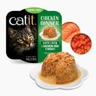 캣잇 치킨 디너 주식캔 연어와 당근을 곁들인 닭고기요리 80g 사진