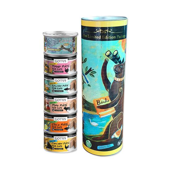 로투스 파테 캔 6종 콤보 저금통 리미티드 에디션 사진
