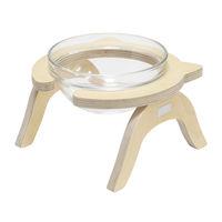 제프리공방 원목 수반 중형 기본형 (물그릇 포함)