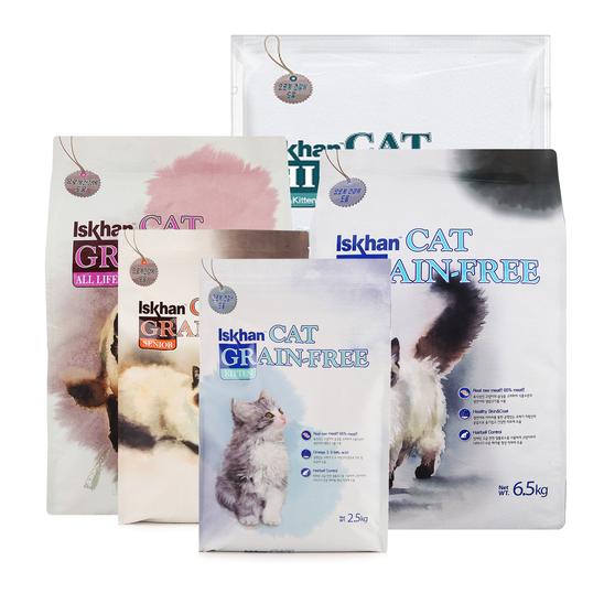 이즈칸 캣 고양이 사료 키튼 어덜트 올라이프 시니어 유리너리 중성화 마더앤키튼 2.5kg 5kg 6.5kg 10kg 사진