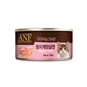 ANF 참치&게맛살 고양이캔 95g