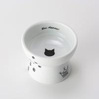 네코이찌 간식그릇 고양이무늬