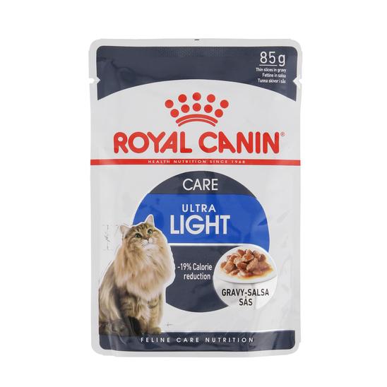 로얄캐닌 고양이 울트라 라이트 그레이비 파우치 85g 사진