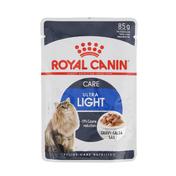 로얄캐닌 고양이 울트라 라이트 그레이비 파우치 85g