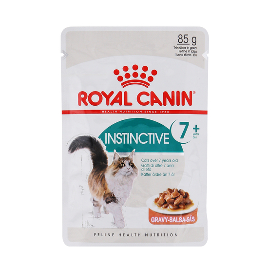 로얄캐닌 고양이 인스팅티브 7+ 그레이비 파우치 85g 사진