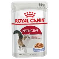 로얄캐닌 고양이 인스팅티브 젤리 파우치 85g