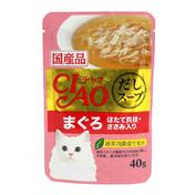 챠오 수프 닭고기&참치 파우치 40g