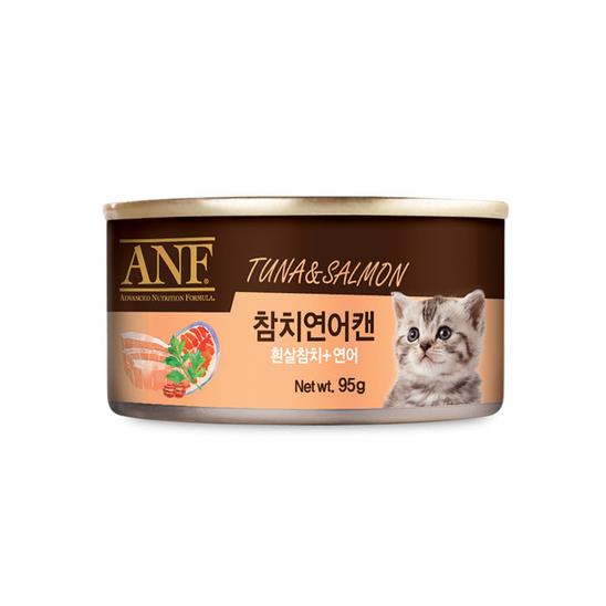 ANF 참치&연어 고양이 캔 95g 사진