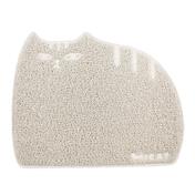아이캣 뚱냥이 모래매트 아이보리