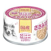 먀우먀우 토비키리 닭가슴살 캔 60g