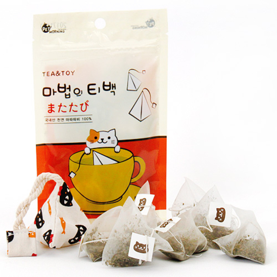 펫모닝 마법의 티백 마따따비 1.5g 8개입 사진
