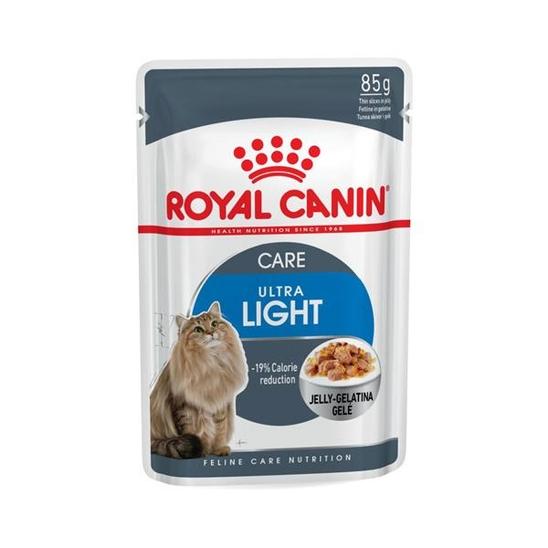 로얄캐닌 고양이 울트라 라이트 젤리 파우치 85g 사진
