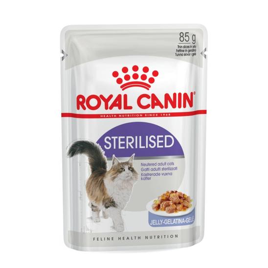 로얄캐닌 고양이 스테럴라이즈드 젤리 파우치 85g 사진