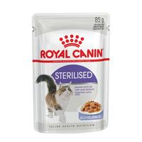 로얄캐닌 고양이 스테럴라이즈드 젤리 파우치 85g