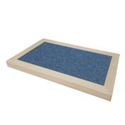힐링타임 양탄자 스크래쳐 양면형 블루