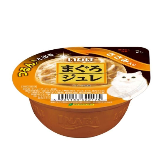 이나바 챠오 츄르 마구로쥬레 닭가슴살맛 캔 65g 사진