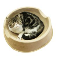 푸르미 비비캣 고양이 종이방석
