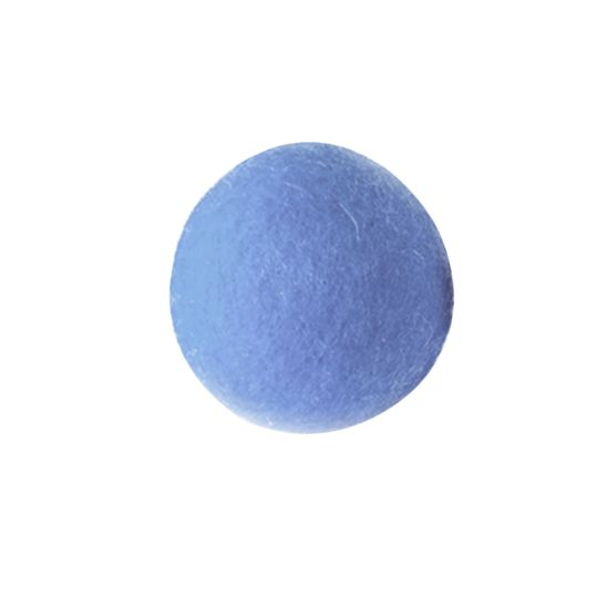 네이처펫 냥냥이 양모볼 6CM 1개입 블루 사진