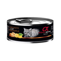 알파스피릿 치킨 & 파인애플 캔 85g