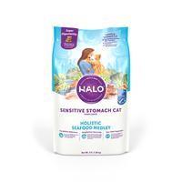 헤일로 캣 홀리스틱 센서티브 씨푸드 메들리 1.36kg - 유통기한 2021.08.17