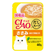 챠오 수프 닭가슴살&가리비맛 파우치 40g