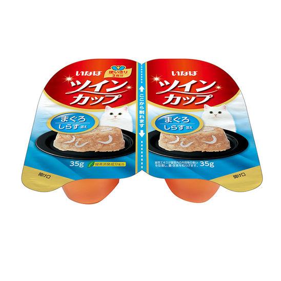 이나바 트윈컵 참치+치어 캔 35g 2개입 사진