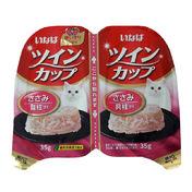 이나바 트윈컵 닭가슴살+치어 캔 35g 2개입