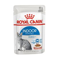 로얄캐닌 고양이 인도어 그레이비 파우치 85g