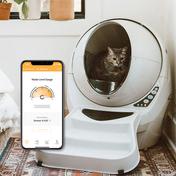 리터로봇3 커넥트 고양이 자동 화장실 비스크