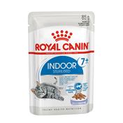 로얄캐닌 고양이 인도어 7+ 젤리 파우치 85g