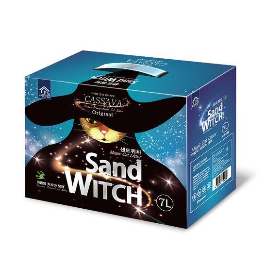 샌드위치 마법의 카사바 모래 무향 7L 사진