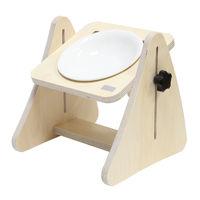 제프리공방 높이조절 원목식탁 1구 기본형 (식기포함)