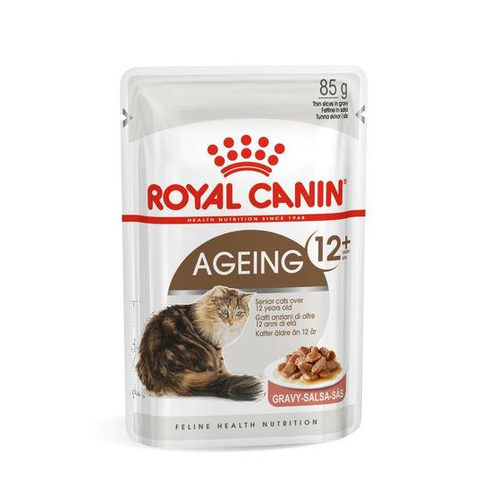 로얄캐닌 고양이 에이징 12+ 그레이비 파우치 85g 사진