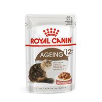 로얄캐닌 고양이 에이징 12+ 그레이비 파우치 85g