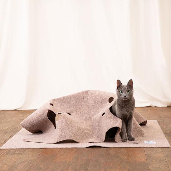 페로가토 고양이 정글매트 스페셜 아이보리 사진