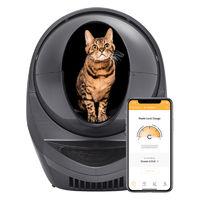리터로봇3 커넥트 고양이 자동 화장실 그레이