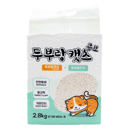 두부랑캣츠 콤보 2.8kg  사진